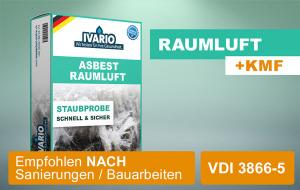 Asbest-Test Raumluft 1 St