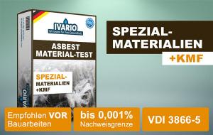 Asbest-Test Spezial-Materialien schadstoffrei Gerichtsfeste REM-Asbest-Analyse 1 St