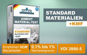 Asbest-Test Standard Materialien 1 St